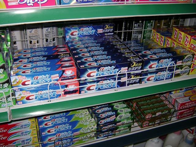 prodej zubních past