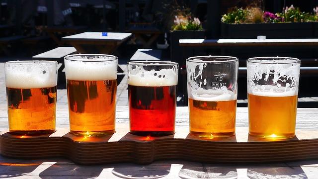 různé typy piva