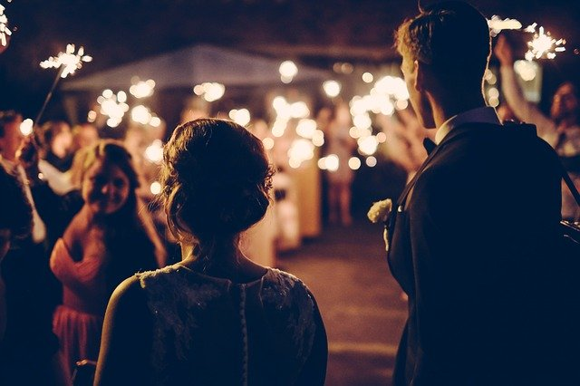oslava manželství