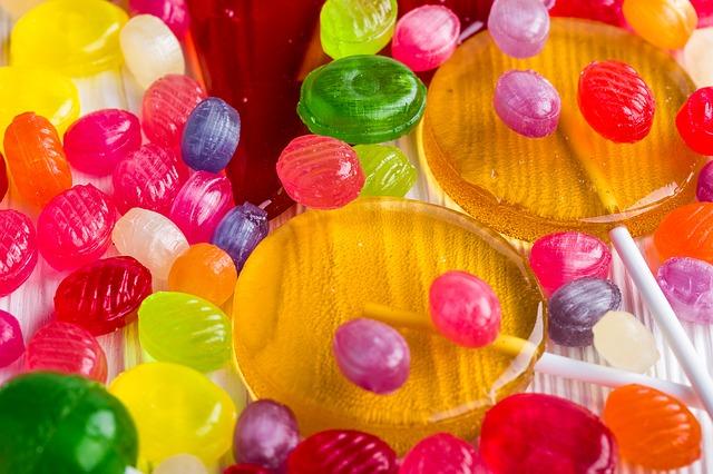 sladkosti pro děti
