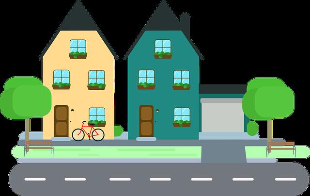 sousední domy