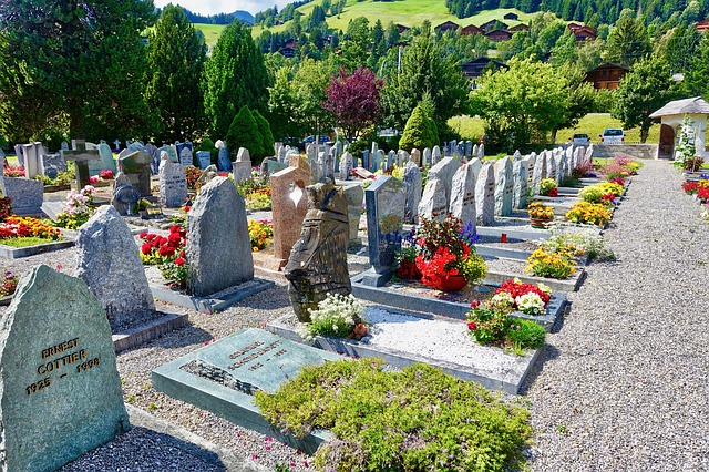 hezký hrbitov