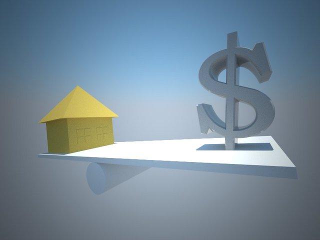 dolar a dům
