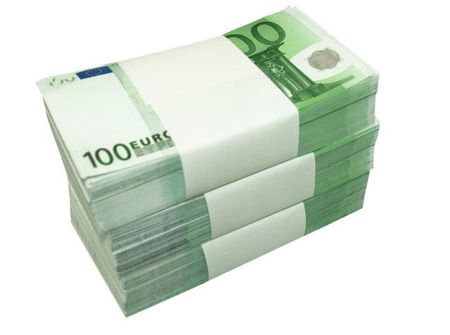 eura svazky bankovek