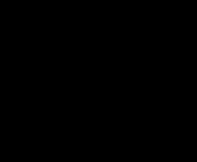 silueta – žena obdarovává muže (nebo naopak)