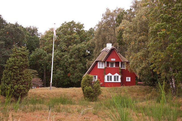 dům na polosamotě